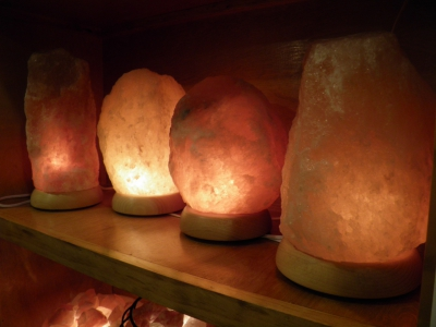 A little grain about salt lamps